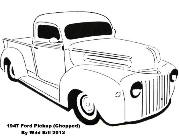 1946 ford pickup hot rod