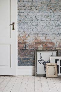 25+ best ideas about Brick wallpaper on Pinterest   Wall ...