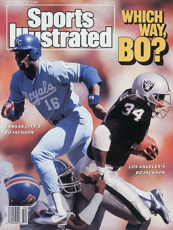 Bo Jackson on the cover of SI  Bo Jackson  Pinterest  The ojays Photos and Dr who