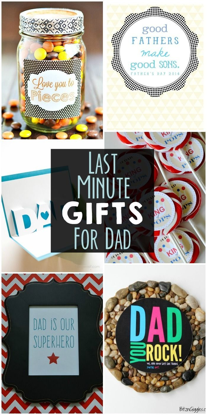 Last Minute Gifts For Dad A Collection Of Easy Gifts For