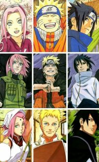 Naruto and his amazing friends and family I love them so ...