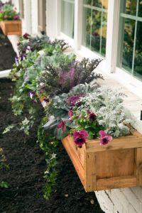 Best 25+ Flower Boxes ideas on Pinterest   Window boxes ...