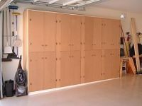 DIY ~~ Garage Cabinets. Or possibly for craft room. Would