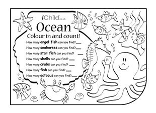 Enjoy colouring in and counting these activities! Count