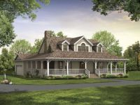 rustic house plans with wrap around porches | Style House ...