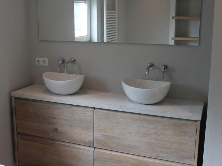 s diepe wasbak badkamer - meuble garten, Badkamer