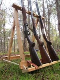 Cypress gun rack.. Five gun stand, collapsible,.. Perfect ...