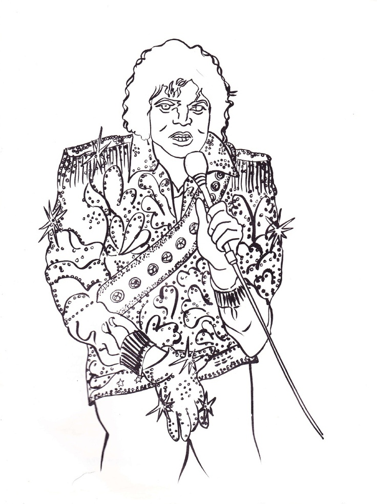 1000+ images about Michael Jackson Coloring Book on