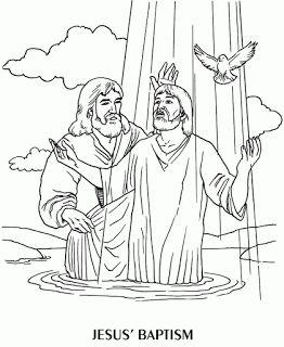 25+ best Jesus baptism craft ideas on Pinterest