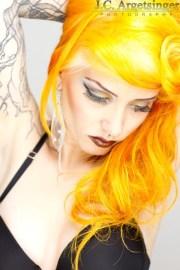 ideas yellow blonde