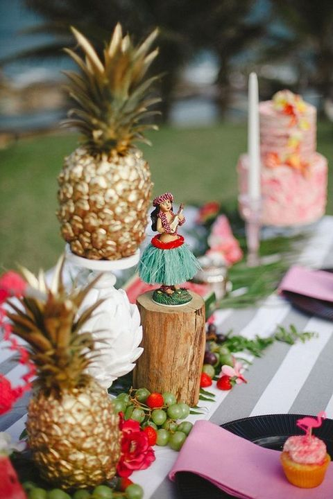17 Best ideas about Tropical Bridal Showers on Pinterest  Luau bridal shower Bridal brunch