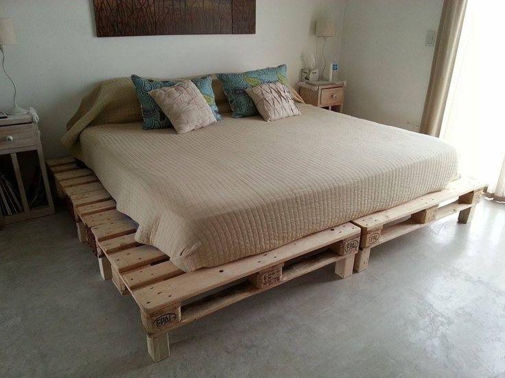 Best 25 Camas rusticas de madera ideas on Pinterest