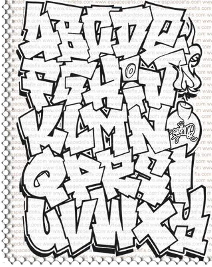 Graffiti lettering looks really interesting, the way that