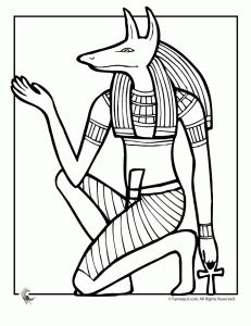 Free Ancient Egypt Coloring Pages..About 9 all together