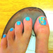 starfish toe-nails style