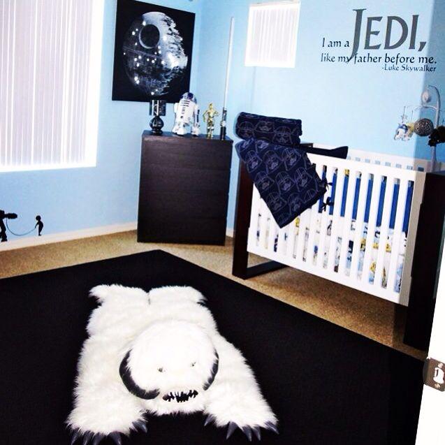 #my #baby #boy #starwars #nursery #decor #decorate #room