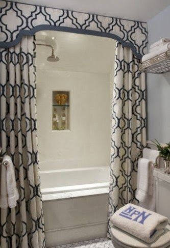 25 Best Ideas About Two Shower Curtains On Pinterest Canvas