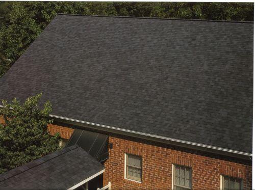 certainteed roof shingles  Moire Black  house paint  Pinterest  Black