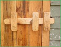 how to make wooden latches for doors - Google Search ...