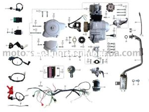 Coolster 110cc atv parts furthermore 110cc pit bike engine diagram along with coolster 125cc atv