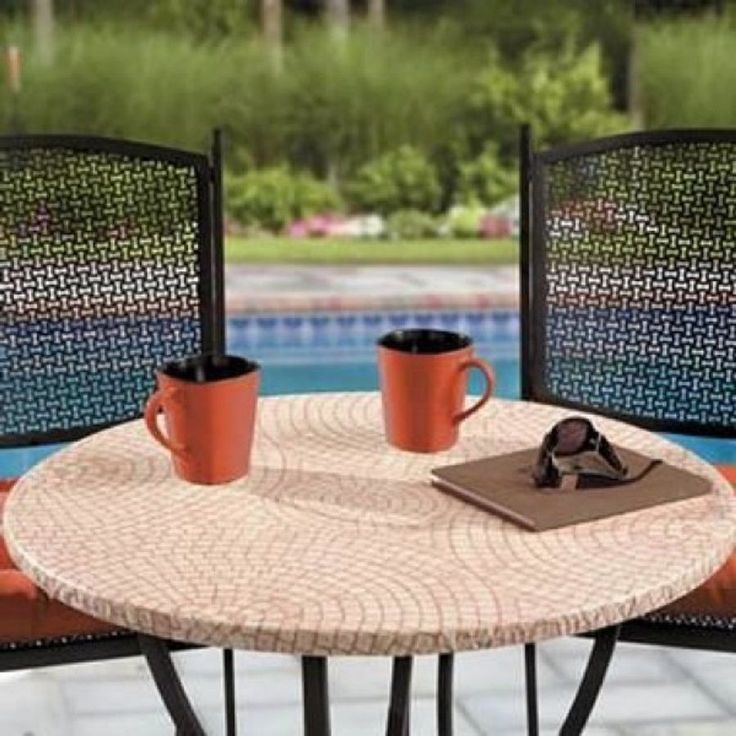 wayfair sofa covers box dimensions 1000+ ideas about round patio table on pinterest | ...