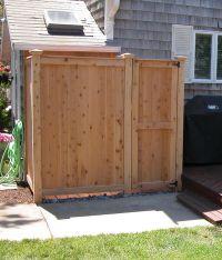17 Best ideas about Outdoor Shower Enclosure on Pinterest