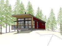 Single pitch roof house plans - House design plans