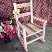 25+ best ideas about Painted Rocking Chairs on Pinterest