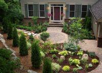 Front yard patio. I would make brick patio larger. I like ...