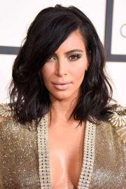 kim kardashian shoulder length