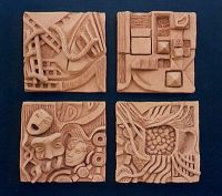 Best 20+ Ceramic tile art ideas on Pinterest | Clay tiles ...