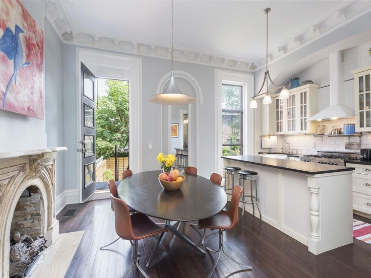 This classic Brooklyn brownstone in Bed Stuy close to