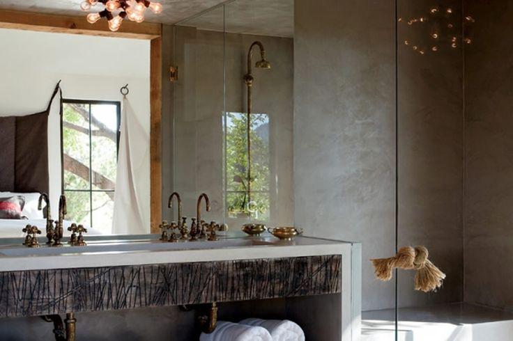 25+ Best Ideas About Rustic Modern Bathrooms On Pinterest