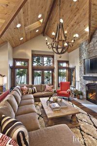 17 Best ideas about Cabin Interior Design on Pinterest