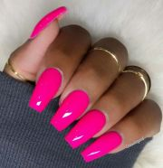 cute pink nails ideas