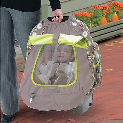 BabyShade Infant Car Seat Carrier Cover  One Step Ahead