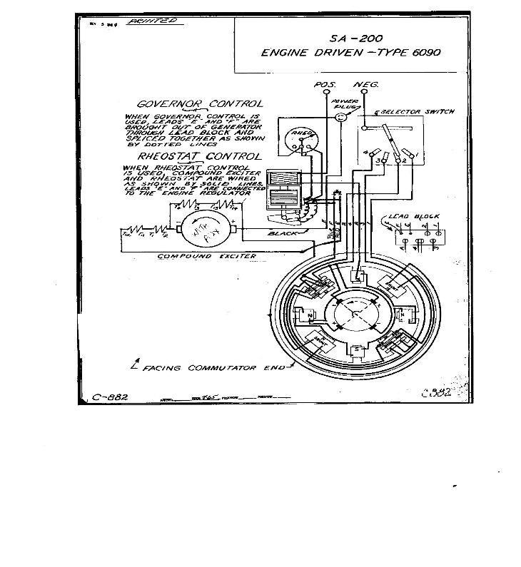 lincoln sa 200 motor diagram