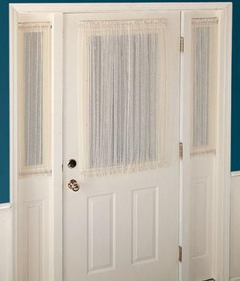 25 Best Ideas About Sidelight Curtains On Pinterest Front Door