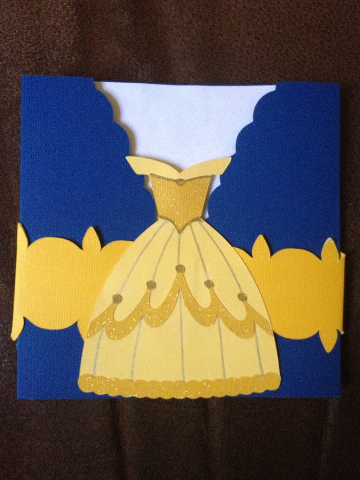 Beauty And The Beast Party Invitations Random