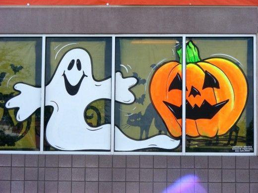 17 Best ideas about Window Paint on Pinterest