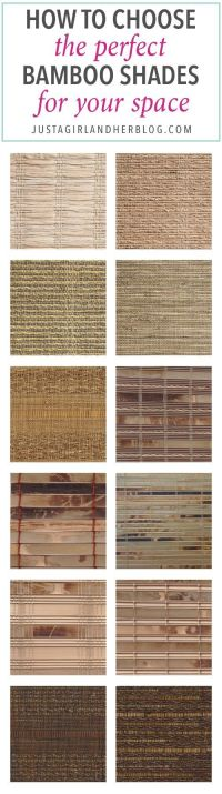 25+ best ideas about Bamboo blinds on Pinterest | Bamboo ...
