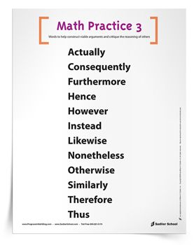 1000+ ideas about Math Practices Posters on Pinterest