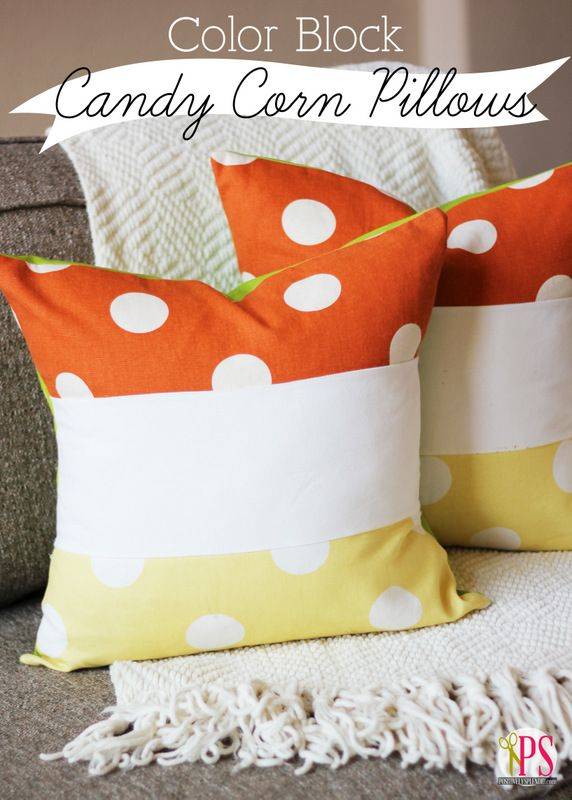 Color Block Candy Corn Pillow (PDF Tutorial) http://www.positivelysplendid.com/2013/09/color-block-pillow.html?utm_source=CraftGossip+Daily+Newsletter_campaign=d71836d381-CraftGossip_Daily_Newsletter_medium=email_term=0_db55426a84-d71836d381-196060585: