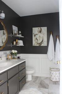 25+ Best Ideas about Dark Gray Bathroom on Pinterest ...