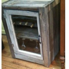 Craigslist Kitchen Cabinets Cheap Faucets Rustic Wine Fridge, Cooler | Backyard Inspiration ...