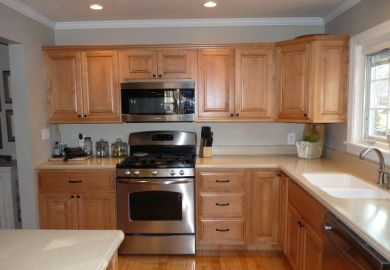 Kitchen Wall Color Ideas With Light Cabinets
