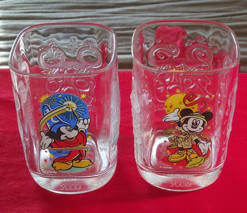 fisher price kitchens portable outdoor kitchen vtg mickey mouse mcdonalds drinking glasses disney cups ...