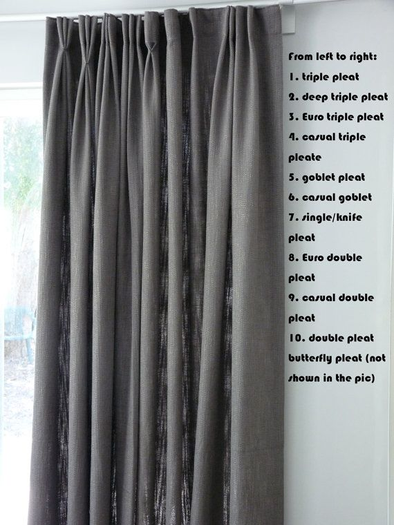 25 Best Ideas About Pinch Pleat Curtains On Pinterest Pleated