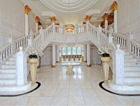 Villa Versailles . Malibu CA . Double Staircase . White ...