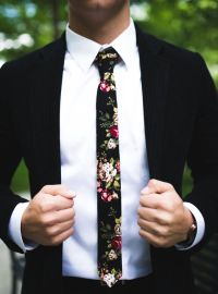 25+ best ideas about Floral tie on Pinterest | Tweed ...